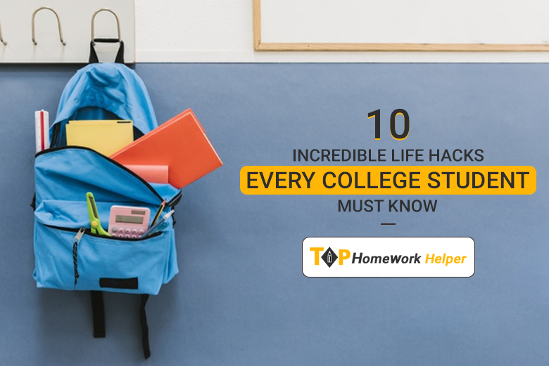 Life Hacks for college student