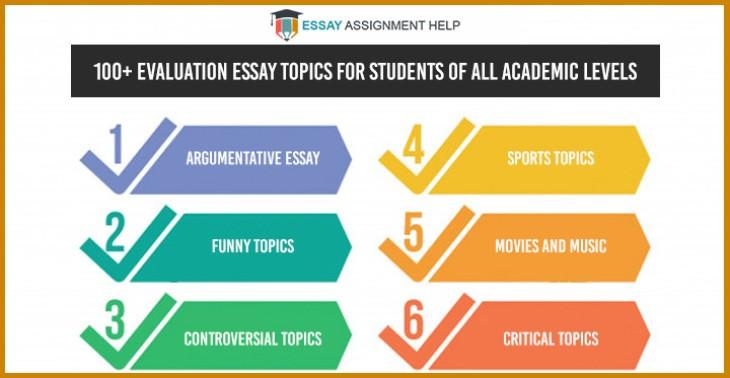 Evaluation Essay Topic