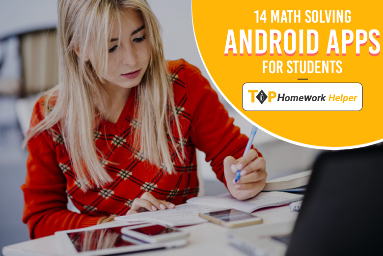 Android Apps to solve math like a pro