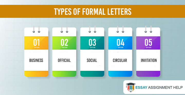 How to write a formal letter?