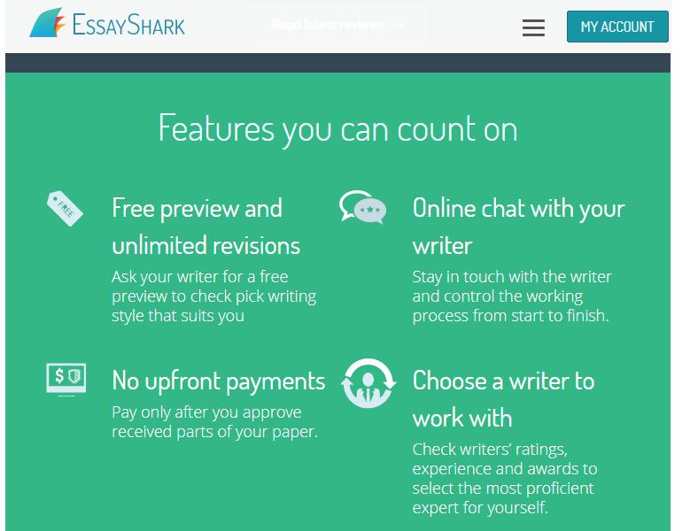 Essayshark payment