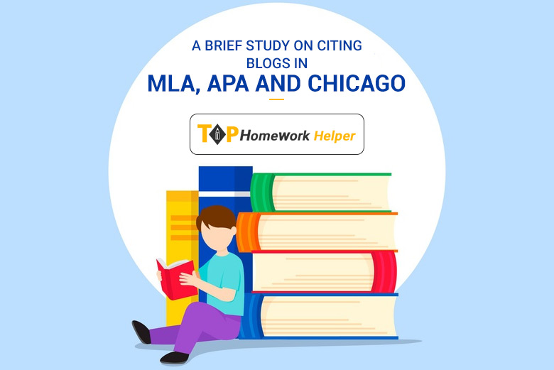 Cite a Blog Using APA, MLA and Chicago Style