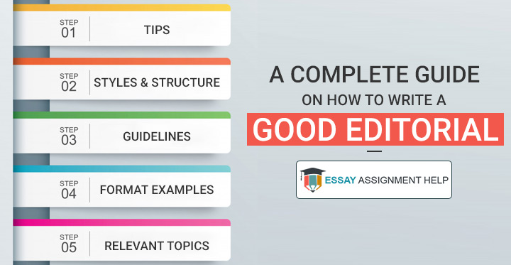 How to write a good editorial - Essayassignmenthelp.com.au