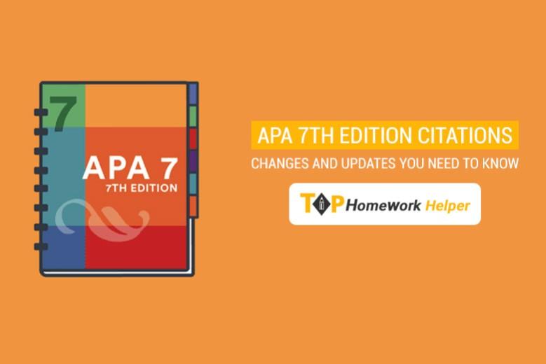 APA Manual 7th edition
