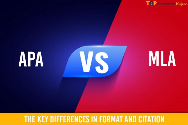APA vs MLA Citation