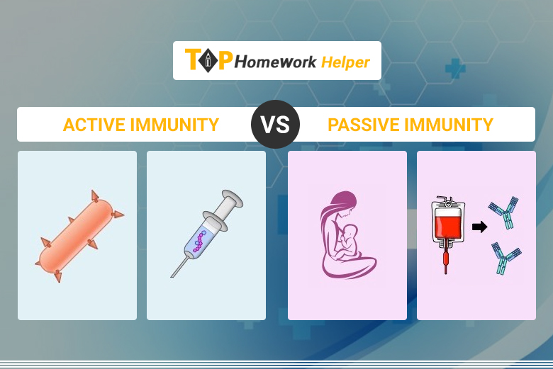 Difference Between Active and Passive Immunity