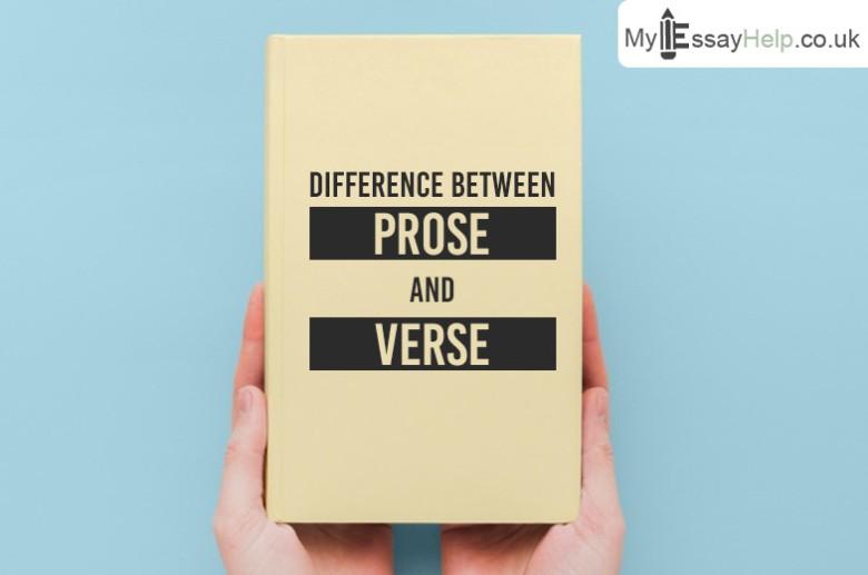 Prose vs Verse