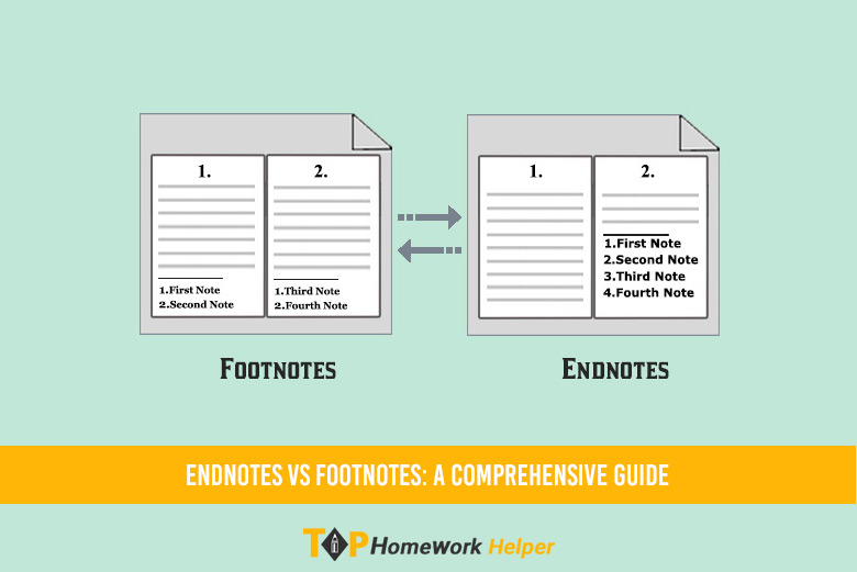 Difference between Endnote and Footnote