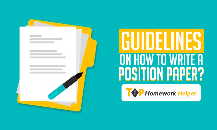 Writing An Impressive Position Paper