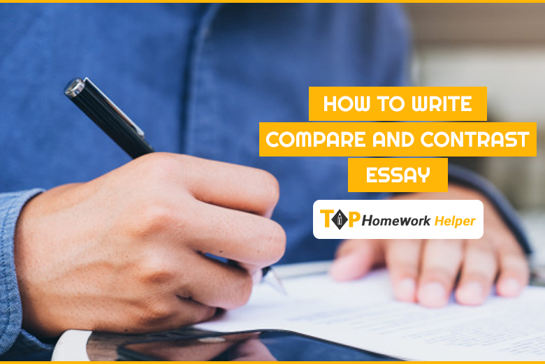 How to write compare and contrast essay