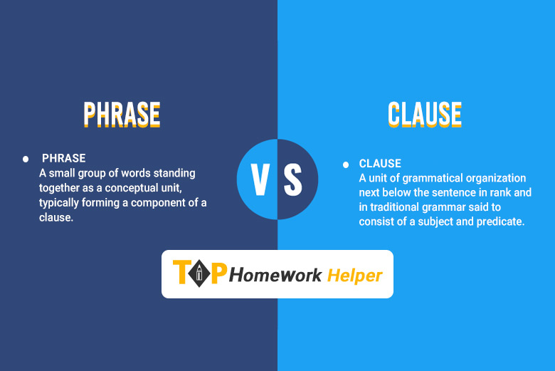 Phrase vs Clause - Difference between Clause and Phrase