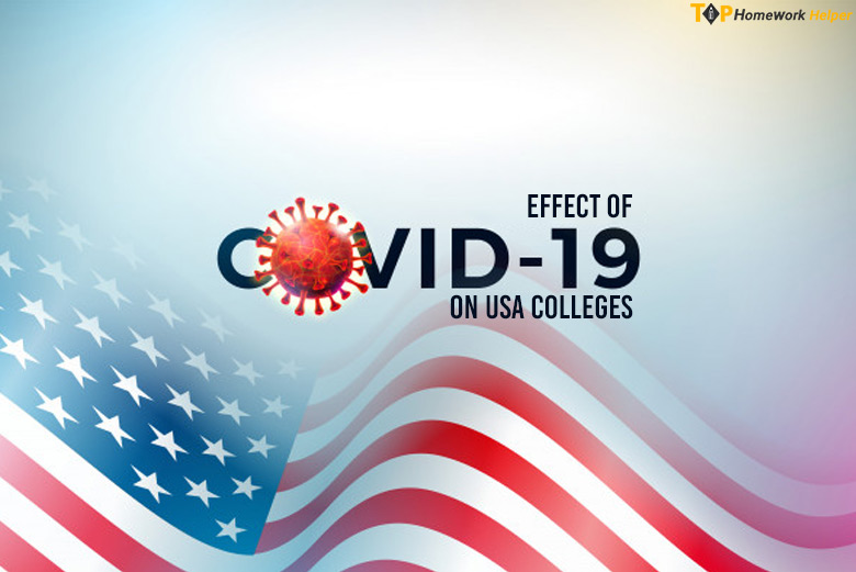 Effect of Covid-19 on USA Colleges