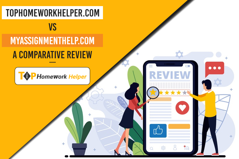 Review of two academic writing services