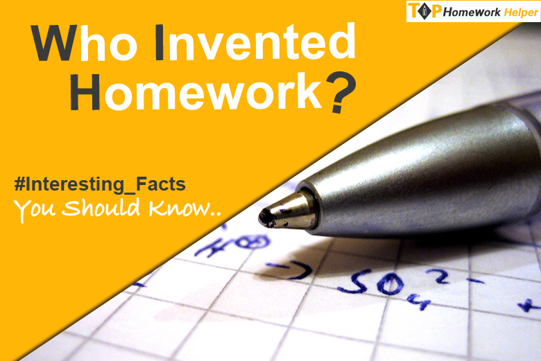 who invented homework